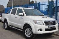 2013 TOYOTA HI-LUX 3.0 INVINCIBLE 4X4 D-4D DCB 1d AUTO 169 BHP £13995.00