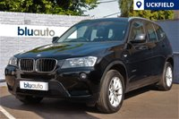 USED 2013 13 BMW X3 2.0 XDRIVE20D SE 5d AUTO 181 BHP Full BMW Service History, Black Leather, Heated Seats, Front & Rear Senors, DAB Radio........