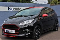 2016 FORD FIESTA 1.0 ZETEC S BLACK EDITION 3d 139 BHP £11000.00