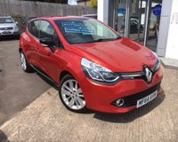 USED 2014 64 RENAULT CLIO 1.5 DYNAMIQUE S MEDIANAV DCI AUTO 5d 90 BHP