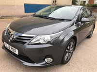 2013 TOYOTA AVENSIS 2.0 D-4D ICON 4d 124 BHP £6450.00