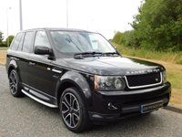 USED 2009 59 LAND ROVER RANGE ROVER SPORT 3.0 TDV6 SE 5d AUTO 245 BHP SAT NAV, BLUETOOTH, PRIVACY