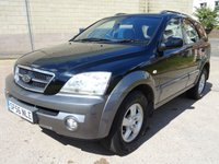 USED 2006 56 KIA SORENTO 2.5 XE CRDI 5d 139 BHP GREAT EXAMPLE OF 4 X 4  + FULL YEAR MOT + 2 PREVIOUS KEEPERS + AUX CONNECTION + AIR CONDITIONING +