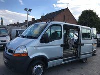 2006 RENAULT MASTER 2.5 SL28 DCI SWB W/CHAIR ACCESS 100 BHP NO VAT JUST 52K IDEAL CAMPER???? £4950.00