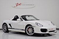2011 PORSCHE BOXSTER 3.4 987 SPYDER 2d 320 BHP MANUAL 1 PRIVATE OWNER CARBON SEATS £42950.00