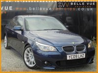 USED 2009 09 BMW 5 SERIES 3.0 535D M SPORT 4d AUTO 282 BHP *HIGH SPEC CAR, MUST SEE*