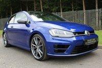 2016 VOLKSWAGEN GOLF 2.0 R DSG 3d AUTO 298 BHP £24500.00