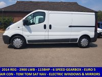 2014 VAUXHALL VIVARO 2900 LWB 115BHP WITH AIR CON & FULL ELECTRIC PACK £7495.00