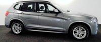2012 BMW X3 3.0 XDRIVE30D M SPORT 5d AUTO 255 BHP £15950.00