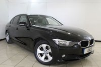 USED 2015 64 BMW 3 SERIES 1.6 320I EFFICIENTDYNAMICS 4DR 168 BHP BMW SERVICE HISTORY + LOW MILEAGE + BLUETOOTH + PARKING SENSOR + CRUISE CONTROL + MULTI FUNCTION WHEEL + CLIMATE CONTROL + 16 INCH ALLOY WHEELS
