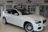 USED 2014 64 BMW X1 2.0 SDRIVE20D M SPORT 5d 181 BHP FULL BLACK LEATHER SEATS + ELECTRIC PANORAMIC ROOF + BLUETOOTH + DAB RADIO + 17 INCH ALLOYS + REAR PARKING SENSORS + AUTOMATIC AIR CONDITIONING