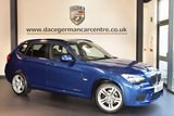 USED 2011 S BMW X1 2.0 XDRIVE20D M SPORT 5DR AUTO 174 BHP + FULL BLACK LEATHER INTERIOR + FULL SERVICE HISTORY + BLUETOOTH + CRUISE CONTROL + HEATED SPORT SEATS + AUTOMATIC AIR CONDITIONING + M SPORT PACKAGE + ALLOY WHEELS +