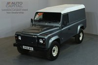 USED 2014 64 LAND ROVER DEFENDER 2.2 TD HARD TOP 122 BHP LWB AIR CON ONE OWNER, AIR CONDITION, FULL SERVICE HISTORY