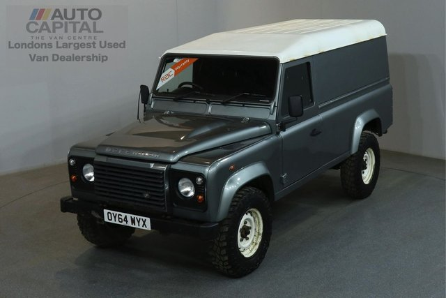2014 64 LAND ROVER DEFENDER 2.2 TD HARD TOP 122 BHP LWB AIR CON ONE OWNER, AIR CONDITION, FULL SERVICE HISTORY