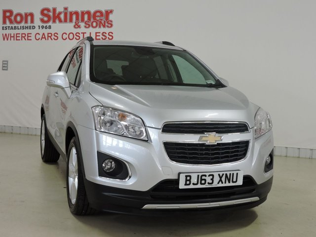 View our 2013 63 CHEVROLET TRAX 1.7 LT VCDI 5d 128 BHP