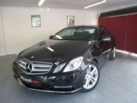 2013 MERCEDES-BENZ E CLASS 2.1 E220 CDI BLUEEFFICIENCY SE 2d AUTO 170 BHP £12995.00