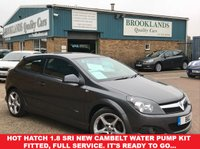 USED 2009 59 VAUXHALL ASTRA 1.8 SRI XP SportHatch Asteroid Grey Metallic 138 BHP Hot Hatch 1.8 SRi New Cambelt Water Pump Kit Fitted, Full Service. It's ready to go...