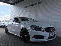 2013 MERCEDES-BENZ A CLASS 1.6 A200 BLUEEFFICIENCY AMG SPORT 5d AUTO 156 BHP £14995.00
