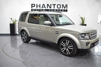 2014 LAND ROVER DISCOVERY 3.0 SDV6 HSE LUXURY 5d AUTO 255 BHP £28490.00