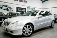 USED 2003 MERCEDES-BENZ C CLASS COUPE SPORT