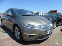 2008 HONDA CIVIC 1.8 I-VTEC SE I-SHIFT 5d AUTOMATIC 139 BHP FULL SERVICE GRADE 1 CAR £2895.00