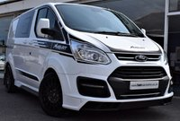 2018 FORD TRANSIT CUSTOM 2.0 310 LIMITED LR DOUBLE-CAB  MS-RT 170 BHP BLACK RALLY PACK  £26990.00