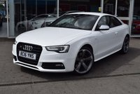 USED 2016 16 AUDI A5 3.0 S5 TFSI QUATTRO S LINE BLACK EDITION 3d AUTO 328 BHP Low Mileage Only 8700 Miles
