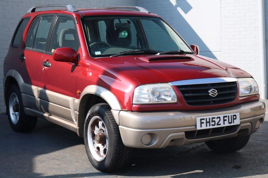 2003 52 SUZUKI GRAND VITARA 2.0 TD 5d 108 BHP