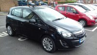 USED 2013 63 VAUXHALL CORSA 1.4 SE 5d AUTO 98 BHP EXCELLENT SPECIFICATION INCLUDING HEATED SEATS, HEATED STEERING WHEEL, PARKING SENSORS, LEATHER TRIM, ALLOY WHEELS, AND AUXILLIARY/USB! WITH FULL HISTORY FROM VAUXHALL AT 8371 MILES FROM NEW!