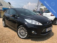 USED 2011 11 FORD FIESTA 1.6 TITANIUM 5d 118 BHP Low Mileage petrol 5 door in Panther Black