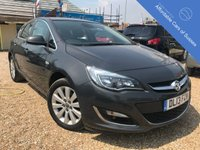 USED 2013 13 VAUXHALL ASTRA 2.0 ELITE CDTI S/S 5d 163 BHP Full black leather interior and £30 road tax