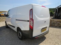 2014 FORD TRANSIT CUSTOM 290 BASE 100PS L1 H1 TAILGATE WORKSHOP VAN with AIR-CONDITIONING £9995.00