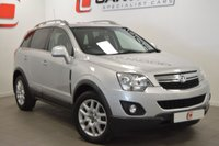 USED 2013 62 VAUXHALL ANTARA 2.2 EXCLUSIV CDTI 4WD S/S 5d 161 BHP LOW MILES + LEATHER + HISTORY + 2 KEYS