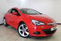 USED 2013 13 VAUXHALL ASTRA GTC 2.0 GTC SRI CDTI S/S 3DR 162 BHP CRUISE CONTROL + MULTI FUNCTION WHEEL + AIR CONDITIONING + RADIO/CD + 18 INCH ALLOY WHEELS
