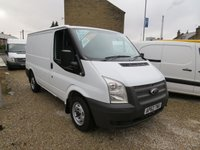 2013 FORD TRANSIT 100T 300 2.2TDCi SWB 6 SPEED VAN WITH AIR-CONDITIONING £7795.00