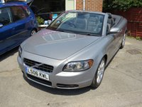 USED 2006 06 VOLVO C70 2.4 SPORT 2d AUTO 170 BHP CONVERTIBLE AUTOMATIC LOW MILEAGE, MANY EXTRAS.FINANCE ME TODAY-UK DELIVERY POSSIBLE