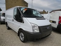 2012 FORD TRANSIT 100T 300 2.2TDCi SWB 6 SPEED VAN WITH AIR-CONDITIONING £7395.00