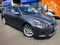 USED 2015 15 LEXUS CT 1.8 200H ADVANCE 5d AUTO 134 BHP ** RAC BUYSURE INSPECTED **