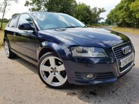 USED 2009 09 AUDI A3 2.0 TDI SPORT ALLOYS 3d 170 BHP