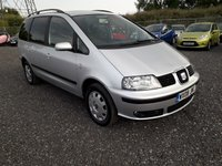 2008 SEAT ALHAMBRA 2.0 REFERENCE TDI 5d 139 BHP £SOLD