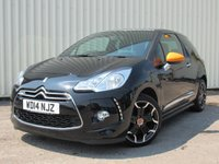 USED 2014 14 CITROEN DS3 1.2 DSIGN BY BENEFIT 3d 82 BHP