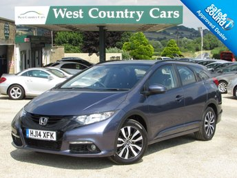 2014 HONDA CIVIC 1.6 I-DTEC SE PLUS TOURER 5d 118 BHP £9500.00