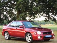 2002 SUBARU IMPREZA 2.0 WRX TURBO AWD 4d 218 BHP £4890.00