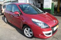 USED 2011 11 RENAULT SCENIC 1.5 DYNAMIQUE TOMTOM DCI 5d 110 BHP VIEW AND RESERVE ONLINE OR CALL 01527-853940 FOR MORE INFO.