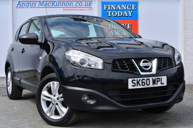 2010 60 NISSAN QASHQAI 1.5 ACENTA DCI Great Value For Money 5d Family SUV
