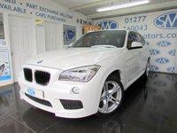 2013 BMW X1 2.0 SDRIVE18D M SPORT 5d AUTO 141 BHP £13895.00