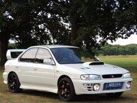1996 SUBARU IMPREZA 2.0 WRX TURBO AWD 4d  £3650.00