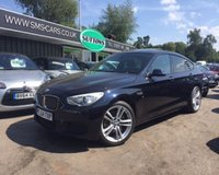 2015 BMW 5 SERIES 3.0 530D M SPORT GRAN TURISMO 5d AUTO 255 BHP £24989.00