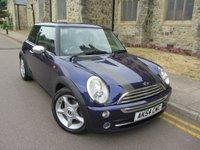 2004 MINI HATCH ONE 1.6 ONE 3d 89 BHP £1795.00