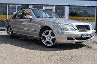 2004 MERCEDES-BENZ S CLASS 3.7 S350 4d AUTO 245 BHP £2799.00
